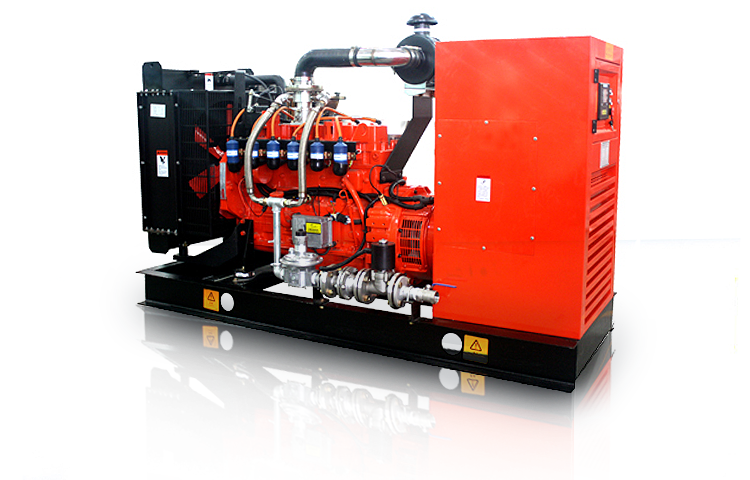 CAMDA HOT SALE 25-500kw biogas generator set with recovery heat system