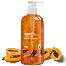 New promoted papaya whitening body wash/shower gel jam