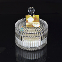 hot design Luxury scented crystal jar candles