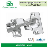 factory wholesale price Stainless Steel 135 Degree Glass Cabinet Hinge Soft Close