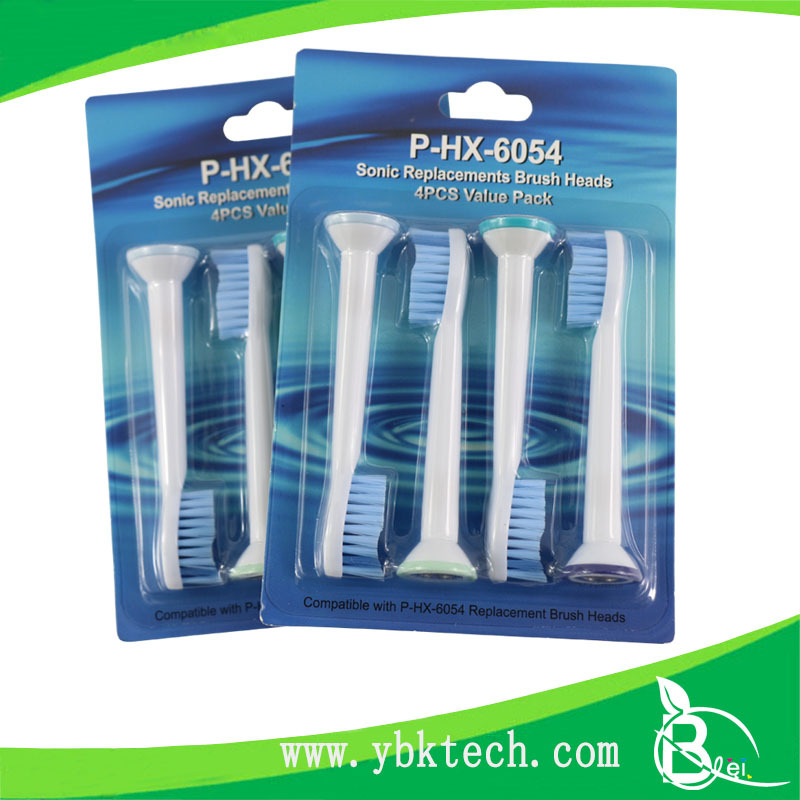 Pefect Manufacturer ultrasonic toothbrush heads for Philip HX6054
