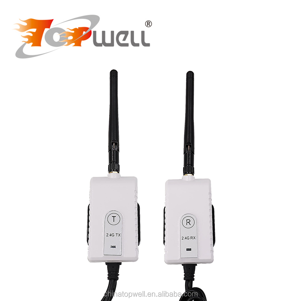 Newest 200mW Farthest Distance Stable Quality DC9V~24V Heavy-duty 2.4Ghz Wireless Car Camera Tansmitter & Receiver