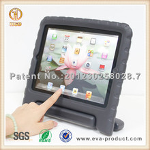 Kids safe handle stand shockproof case for ipad 1, 2, 3, 4