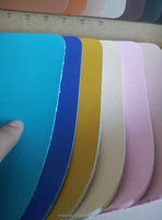 Microfiber Base Backing pu Leather for Shoes Upper