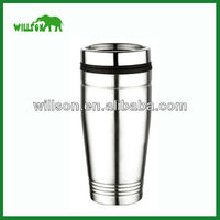 Metal thermos mug Custom Logo Promotional Advertising Gift Can Shaped Sublimation Mug