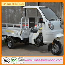 2015 Chongqing Popular 250cc Gasoline Cheap New Design Cargo Tricycle With Cabin For Cargo