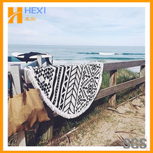 Best Selling Stock Lot Chair Cover Round Beach Towels