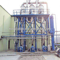 Fruit and vegetable processing special evaporator