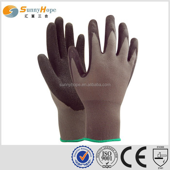 13 Gauge knit palm warehouse gloves