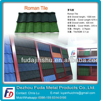 Manufacturer of Colorful Metal Roofing tile