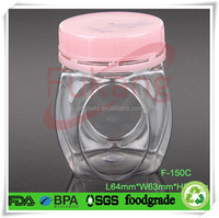Yellow pharmaceuticals/medicine/drug/capsule/ health care products clear pet bottles/container/jar
