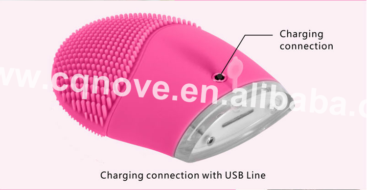 Best sale Silicone Facial Cleansing Brush Silicone Deeply Clean your Face skin Brush accept private label OEM