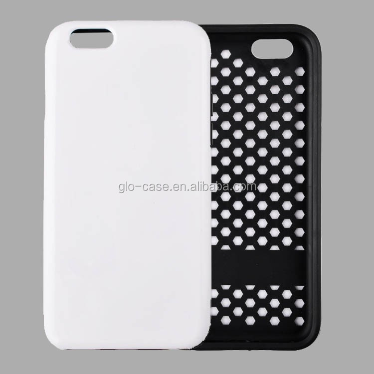 3D blank case for iPhone 6 Plus