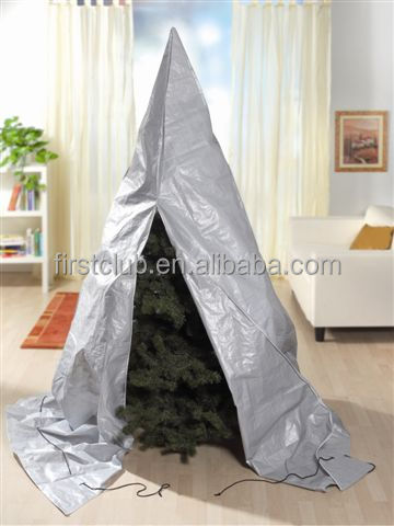 108g/m2 PE outdoor grey christmas tree cover