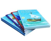 Best quality softcover accordion fold brochure / flyer printing