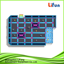 indoor amusement trampoline park with electronic games