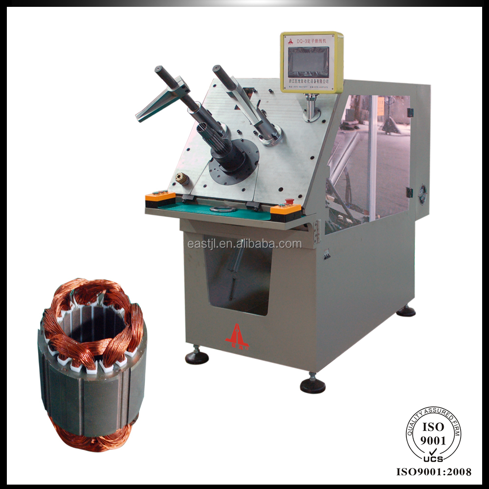 Automatic CNC Controlled Motor Stator Coil Winding Final Forming Machine