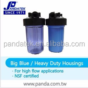 "Low Price filter cartridge, 1"" 20 inch water filter big blue housing for mineral water plant"