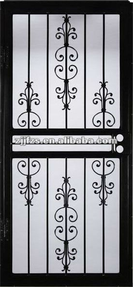 Steel Security Screen Doors