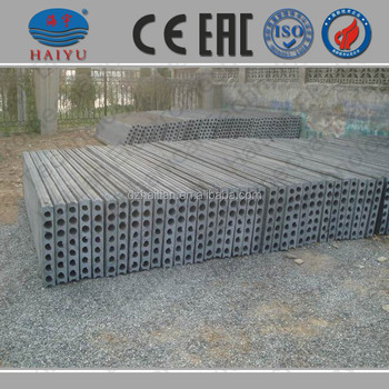 lightweight concrete slab machine/hollow core wall panel machine
