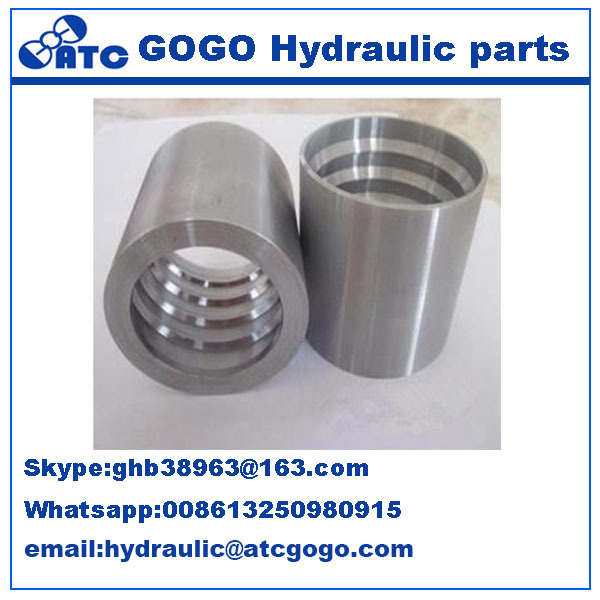 Discount CNC Manufacture Carbon Steel Eaton Ferrule-hydraulic hose fittings 01400-08