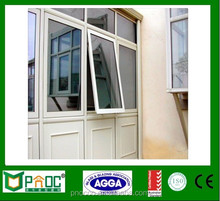 China Supplier Australia Standard AS2047 Aluminum Awning Window/Aluminium Top Hung Window With Double Glazed