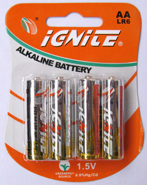 Alkaline Battery AA (LR6)