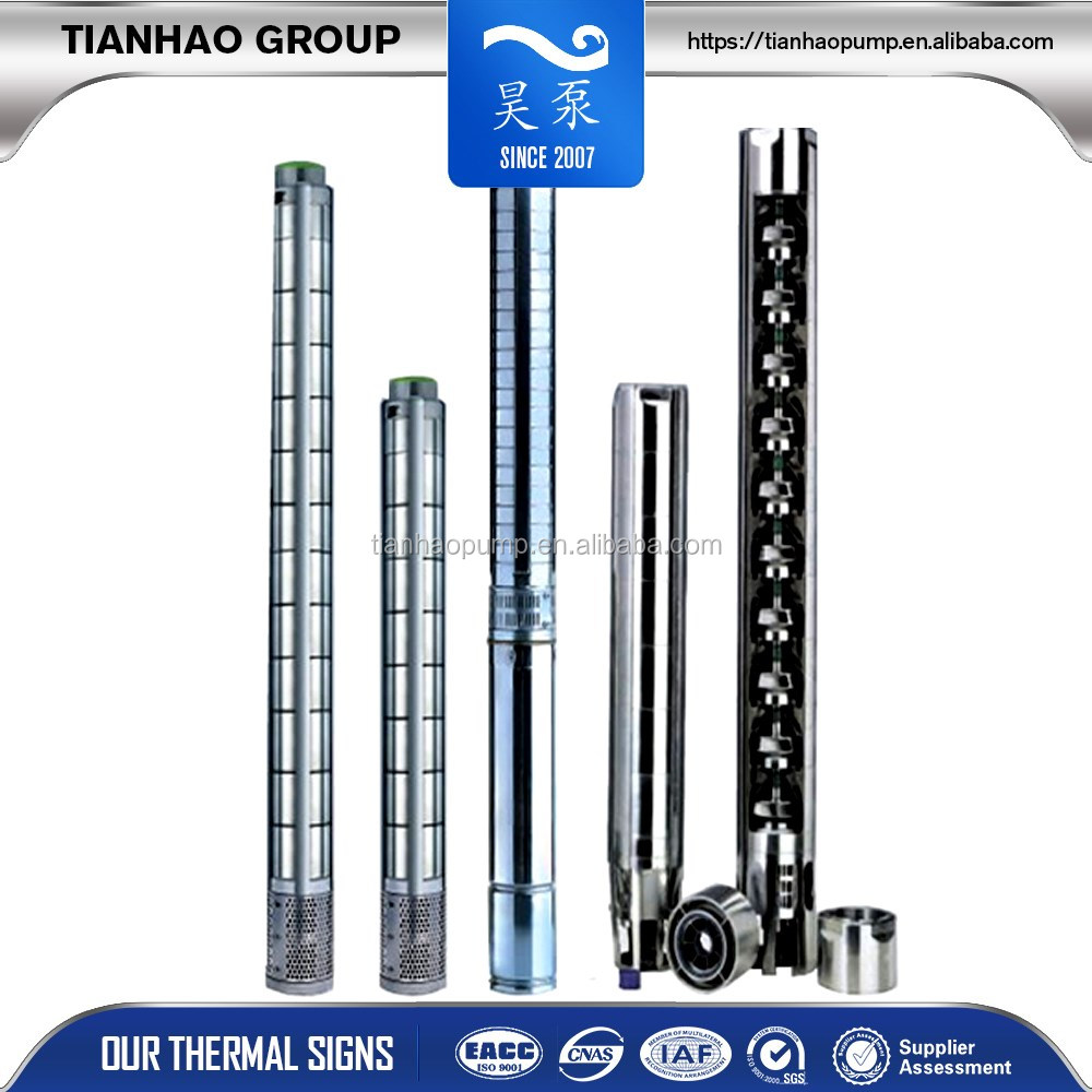 multi-stage submersible stainless steel centrifugal pump