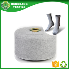 regenerated blended 10-20s oe cotton socks manufacture yarn