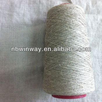 Coarse Flax//linen yarn for weaving//nature color linen