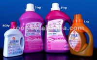 Products sold around the world----Pollution-free Magic Ultra concentrated laundry liquid with best price (three in one)