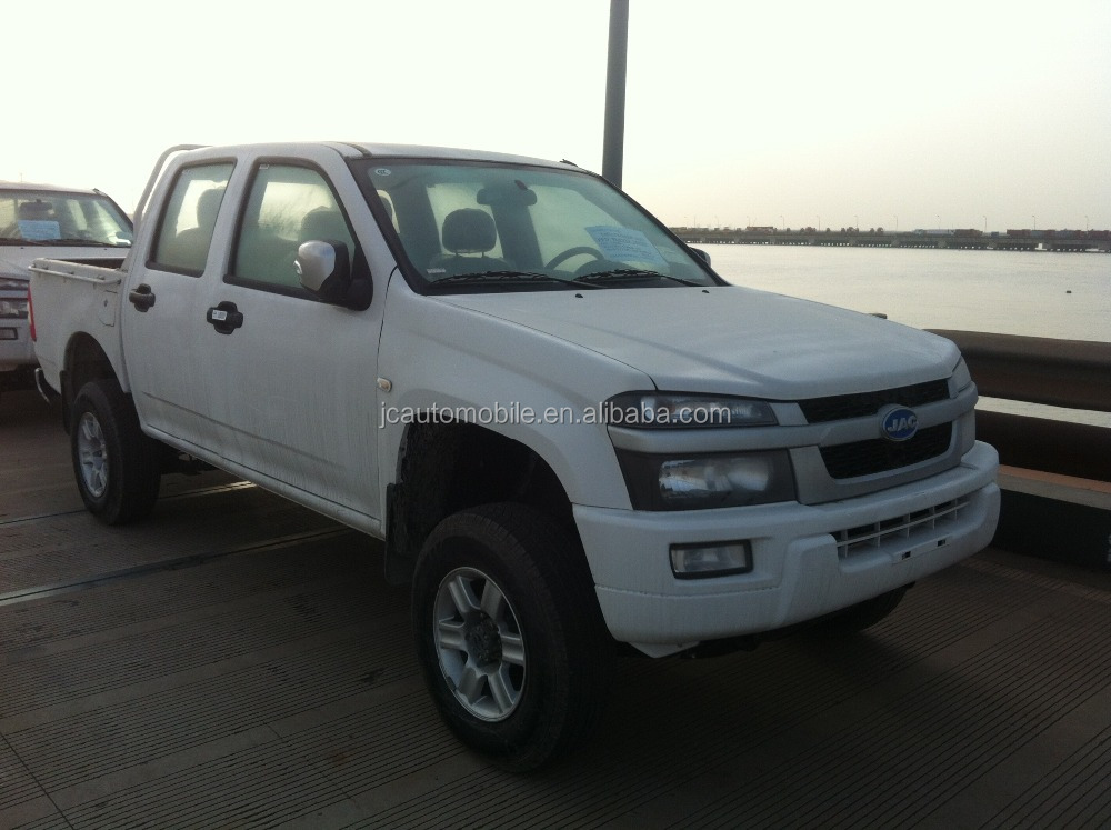 Popular selling JAC 4WD double cabin diesel type pick up truck with good price