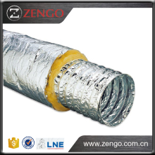 Perforated aluminum/polyester lamination for reducing noise , SONO,Aluminium Acoustic Insulated Flexible Duct.