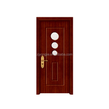 Hot sale good quality MDF+Finger joint fir wood+PVC solid wood single door design