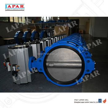 LAPAR Resilient Seated Butterfly Valve