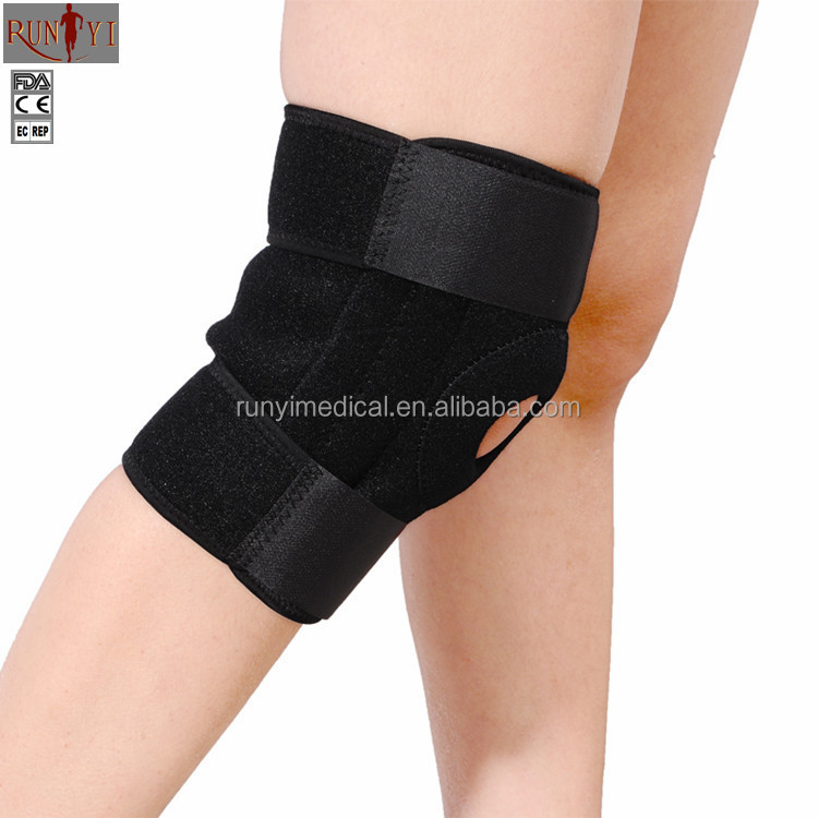 Adjustable Sports Breathable Double Spring Mountaineering Cycling Men and Women Badminton Basketball Running Knee Support