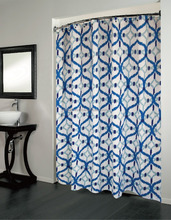 1PC COTTON PRINTED SHOWER CURTAIN 180*180CM