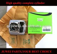 high quality motorcycle cylinder with piston, piston ring,gasket, clip, pin