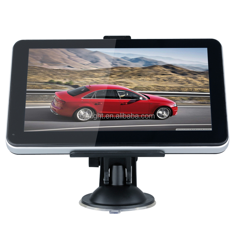 "7"" Touch Screen RAM256M/8GB Bluetooth&AV-IN 800MHZ CPU FM WinCE 6.0 Free Maps 3G GPS Tracker Manufacturer Car GPS"