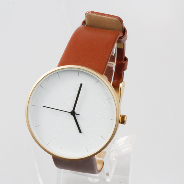 New design custom watch face rose gold oem watch