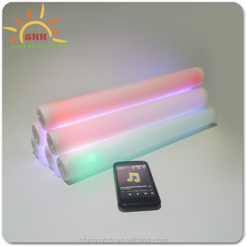 New Product - A voice-activated foam stick with custom LOGO ,light up your concert,party,birthday,<strong>show</strong>