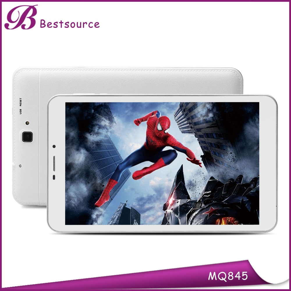 8inch 1024*600 IPS Rear Camera 5.0MP ROM 8GB Android 5.0 MTK8382 dual sim 3G Quad Core wifi GPS android tablet 4gb ram