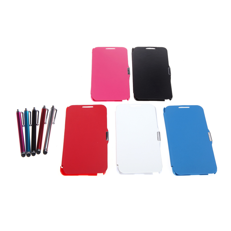 Big Sales Magnetic Flip Leather Hard Full Case Cover for Samsung N9000 Galaxy Note3+Stylus Pen+Screen Film