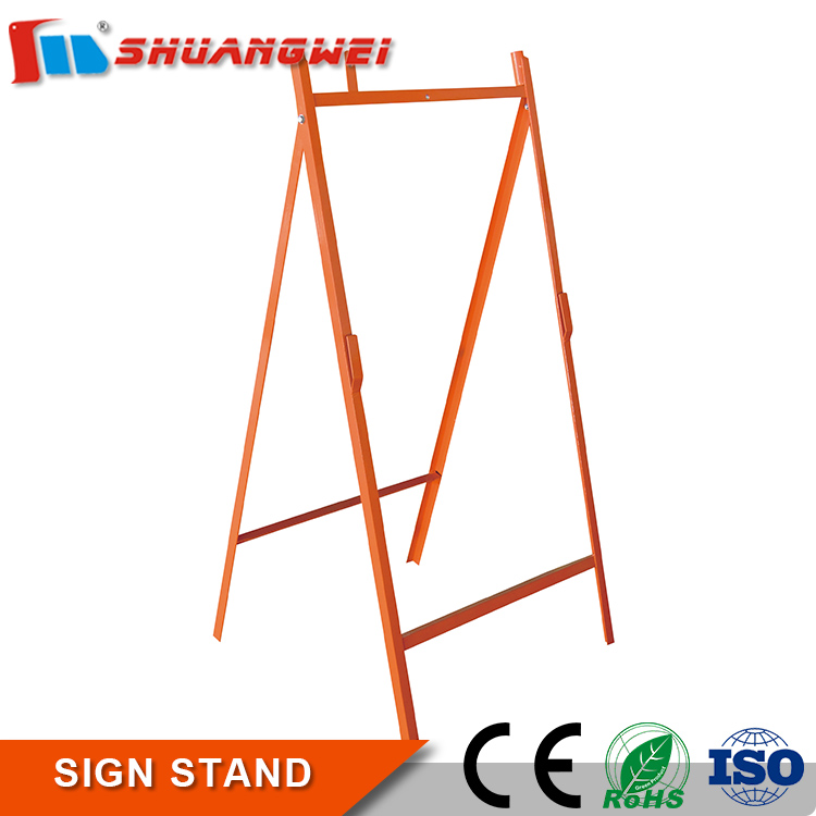 wholesale advertising metal A-frame two sides stand
