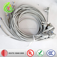 DVI customized wire wiring harness and cable assembly cable we have wire and cable factory and assembly factory sample fast del