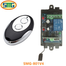 DC 12v 10A Remote Control 433MHz Relay 1CH Wireless RF Remote Control Switch Transmitter With Receive For Electric Gates
