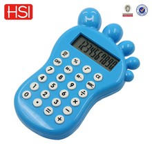 stationery battery charged electronic round calculator