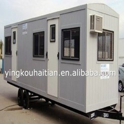 Modern pop hot sale cheap light material color customized removeable prefab container house