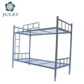 Simple design furniture cheap metal bunk bed for students