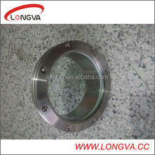 Stainless Steel Sanitary Forged Technics boiler flange sight glass